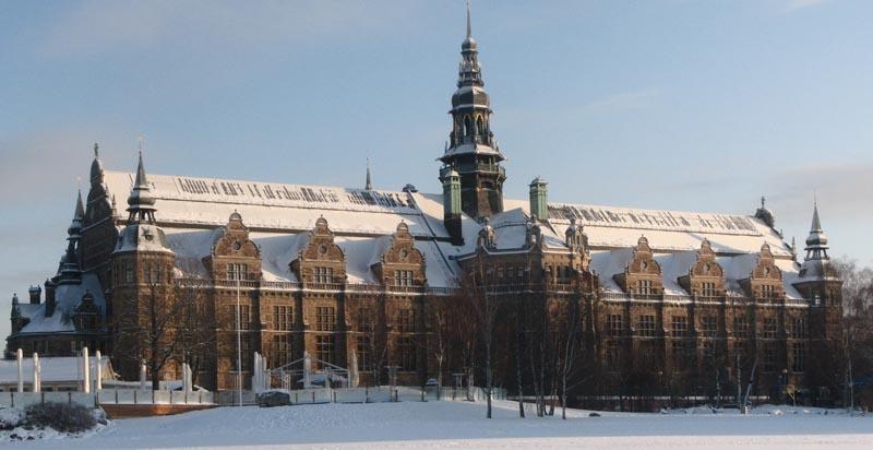 Das Nordiska Museet von Außen - das Bild stammt von Wikimedia