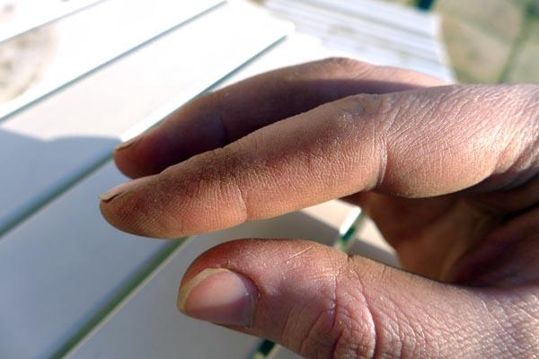 handarbeiterhände